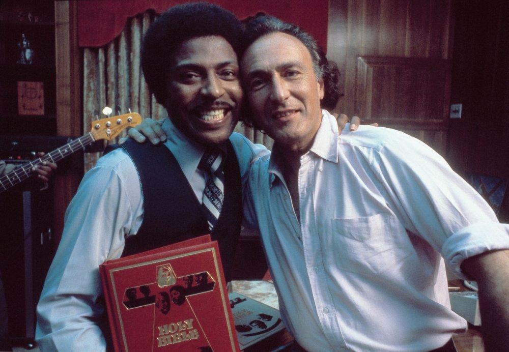 Little Richard with William Klein.