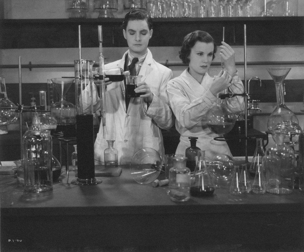 Robert Donat and Joan Gardner in Leontine Sagan's lost 1932 film Men of Tomorrow