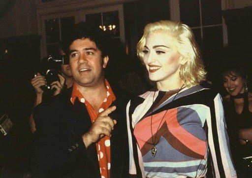 Pedro Almodóvar and Madonna