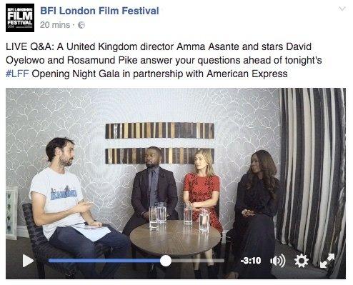 A United Kingdom Facebook stream