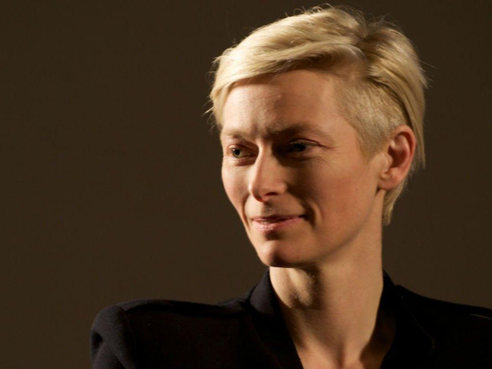Guest speaker Tilda Swinton