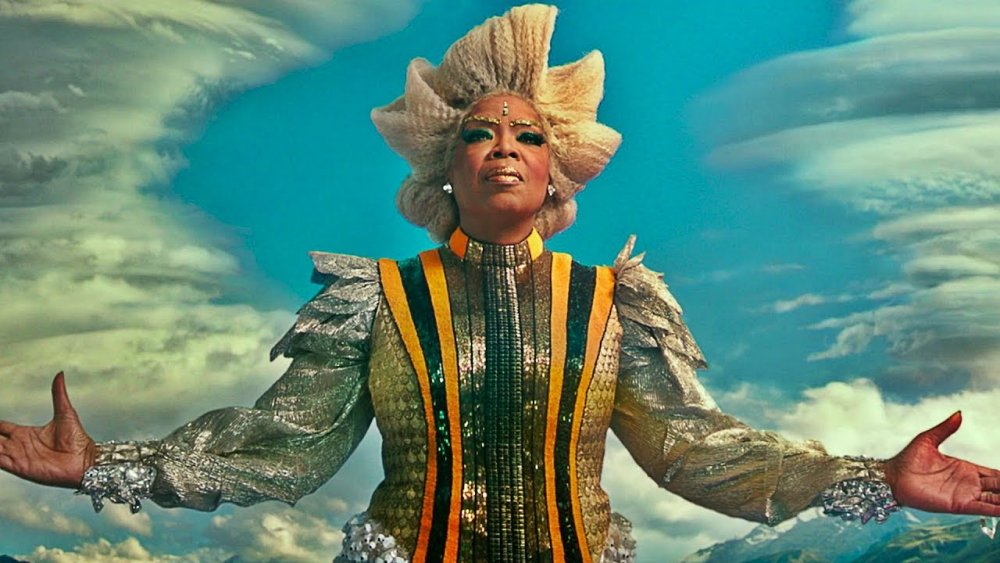 Oprah Winfrey as Mrs Which in A Wrinkle in Time
