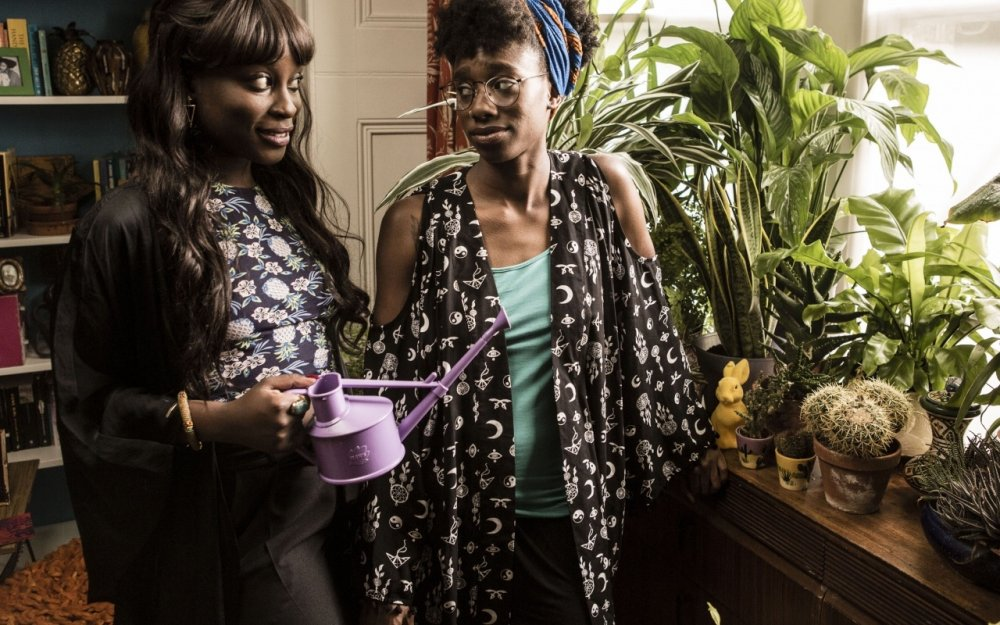 Vanessa Bibirye and Michelle O Tiwo in Ackee and Saltfish