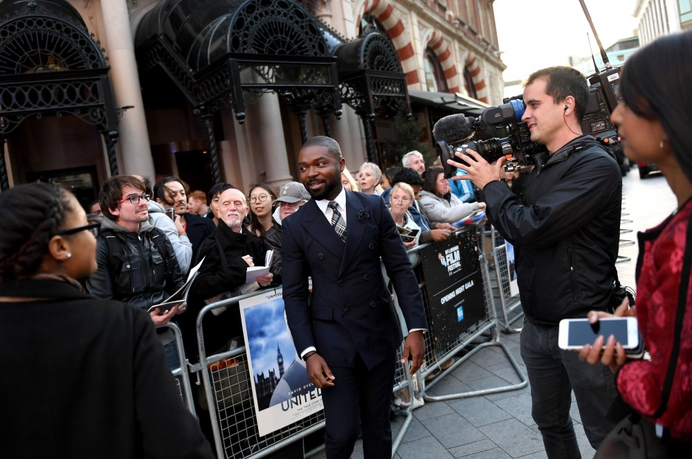Actor David Oyelowo attends the Opening Night Gala screening of A United Kingdom at Odeon Leicester Square