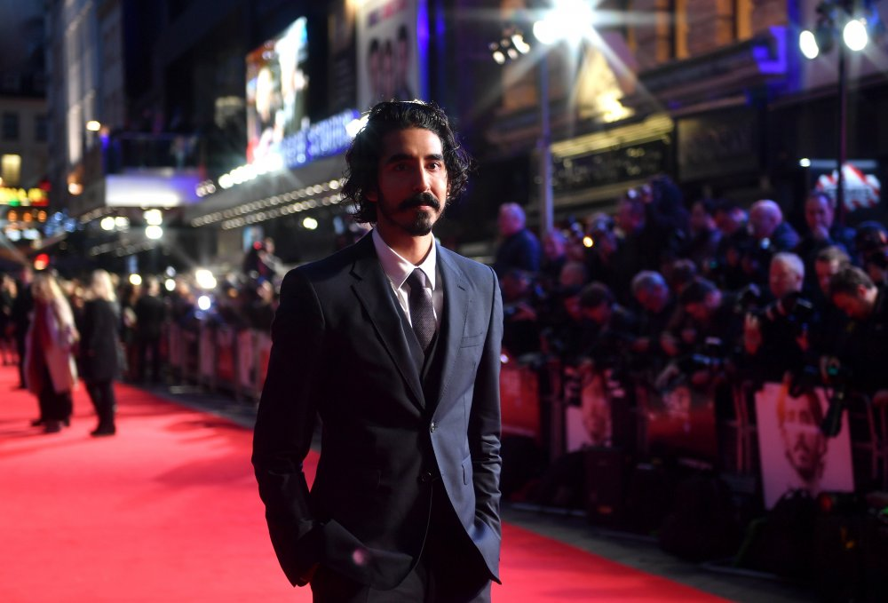 Dev Patel attends the American Express Gala screening of Lion at Odeon Leicester Square