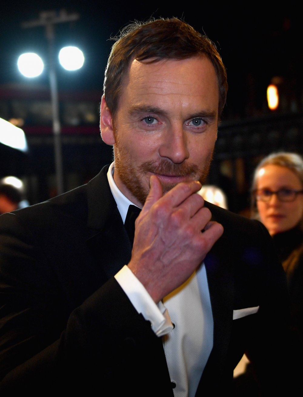Michael Fassbender attends the BFI London Film Festival awards at Banqueting House