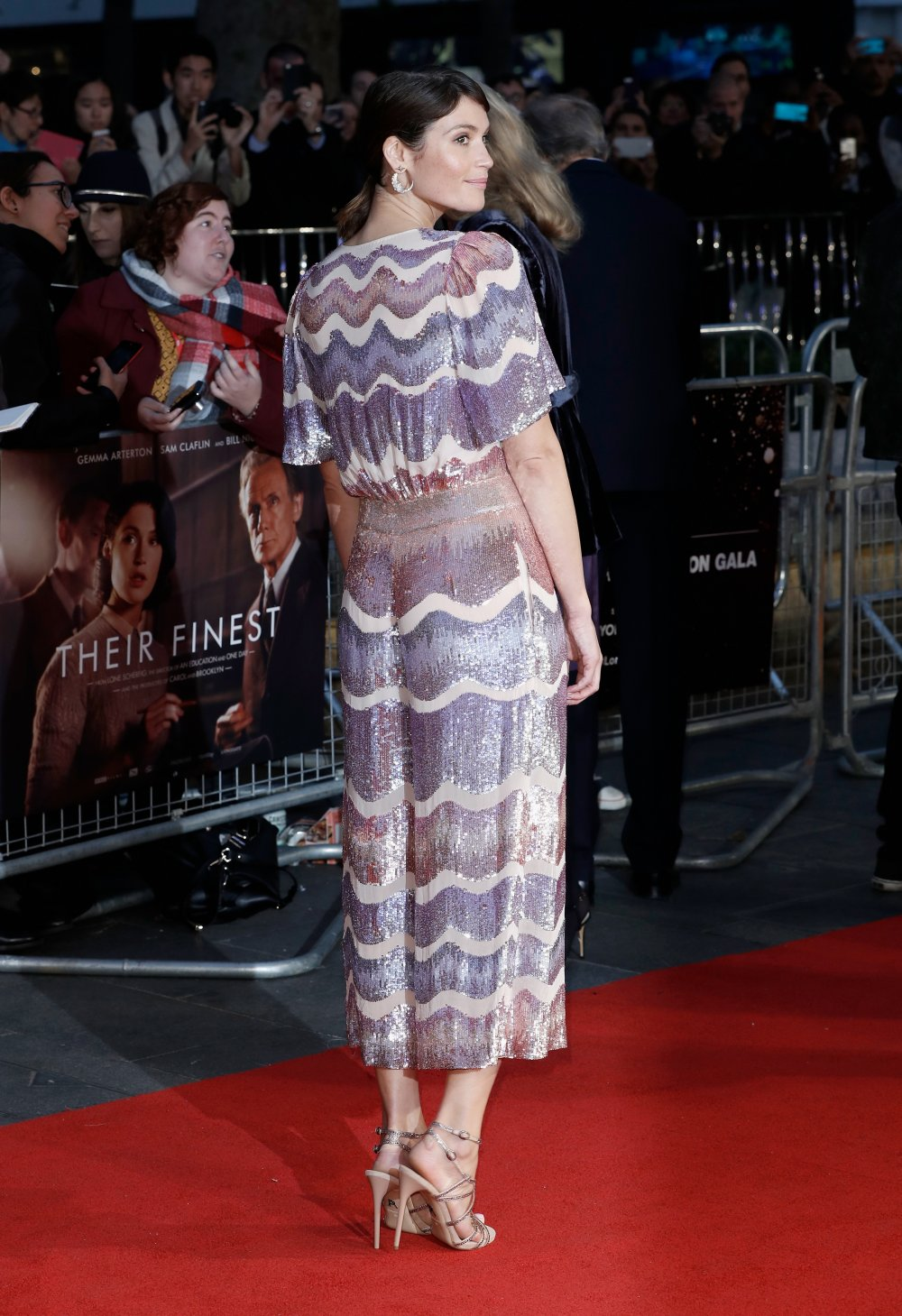 Gemma Arterton attends the Mayor's Centrepiece Gala screening of Their Finest