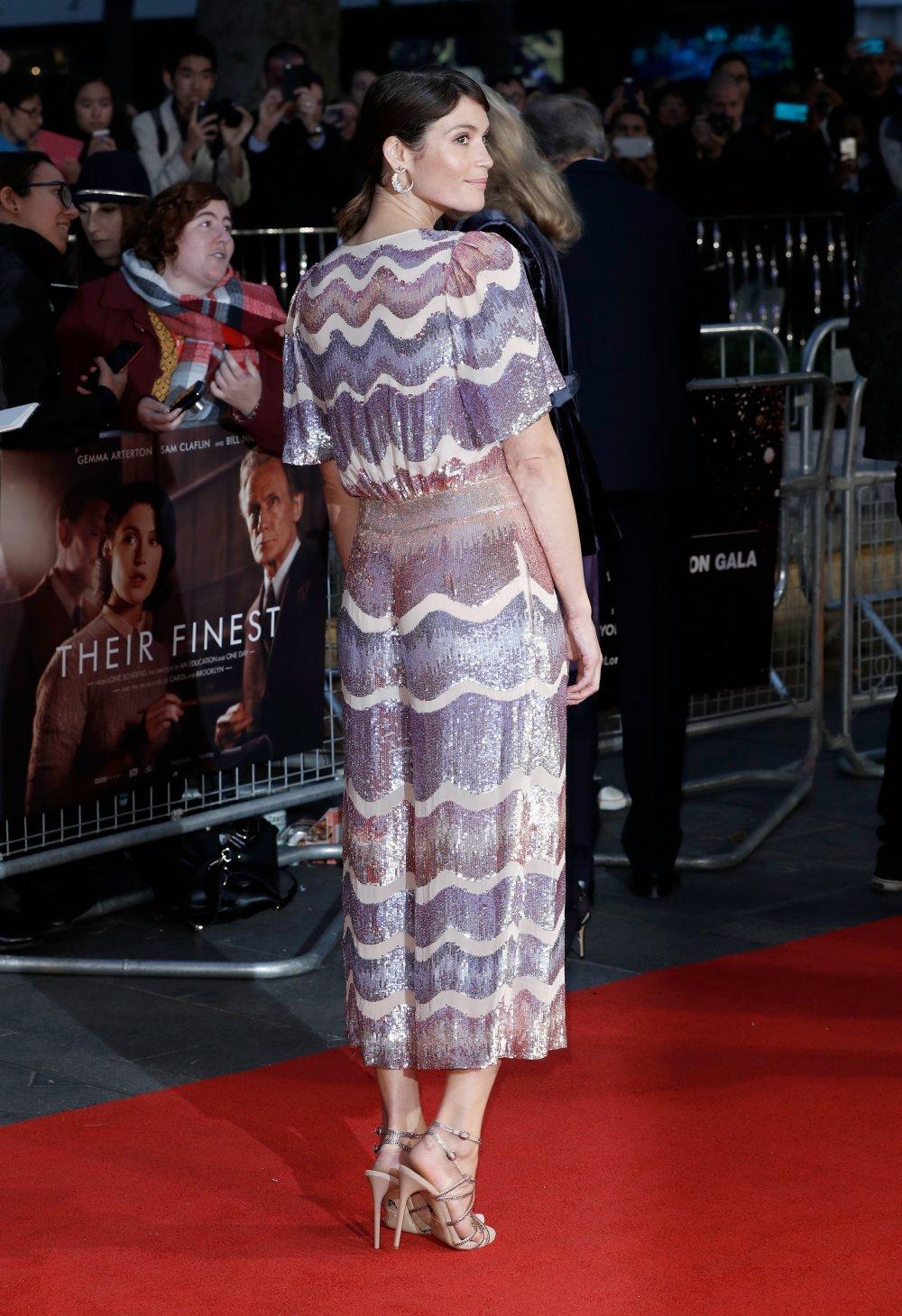 Gemma Arterton attends the Mayor's Centrepiece Gala screening of Their Finest