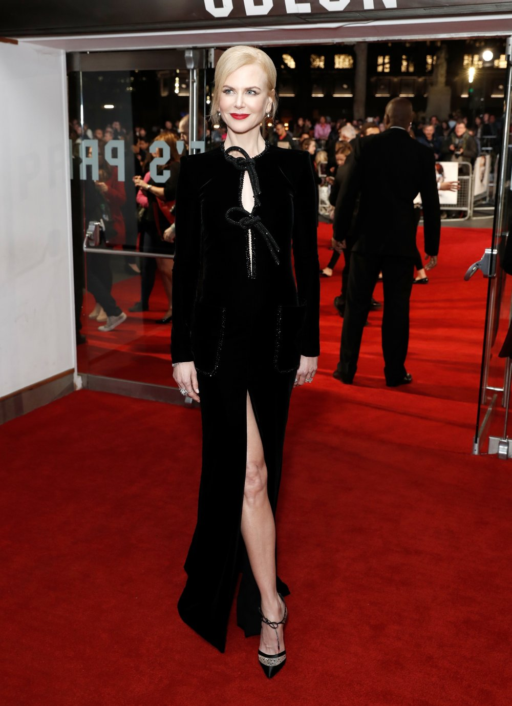 Nicole Kidman attends the American Express Gala screening of Lion at Odeon Leicester Square