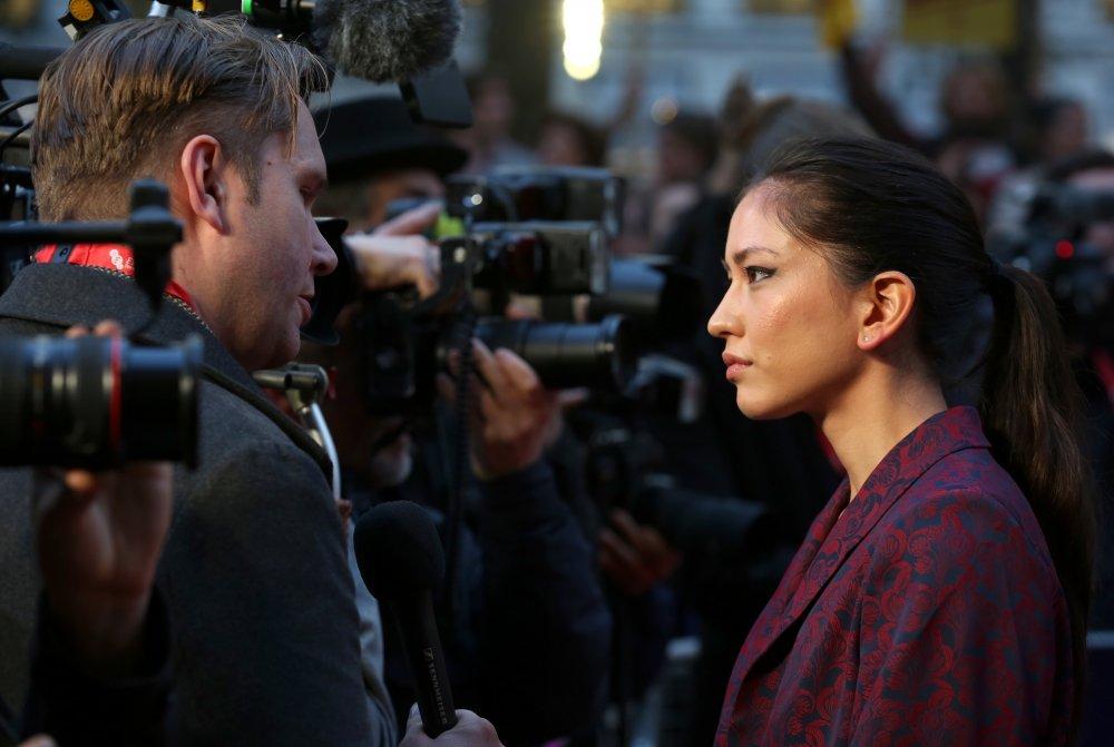Sonoya Mizuno attends the Headline Gala of La La Land at Odeon Leicester Square