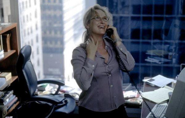 Meryl Streep as New Yorker reporter Susan Orlean in Adaptation (2002)