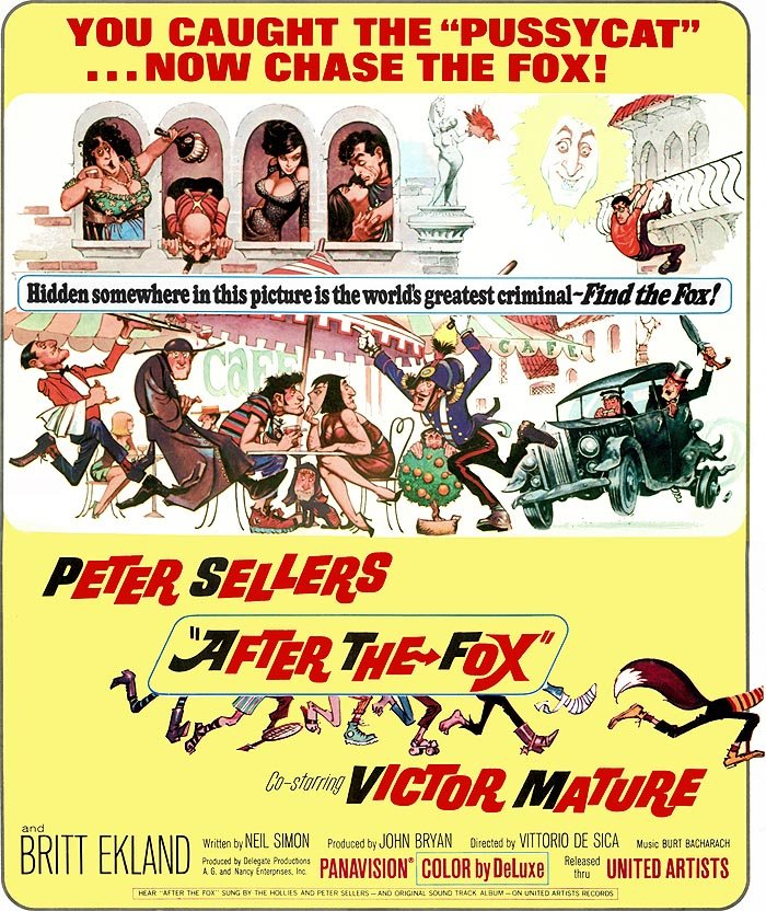 After the Fox (1966) poster