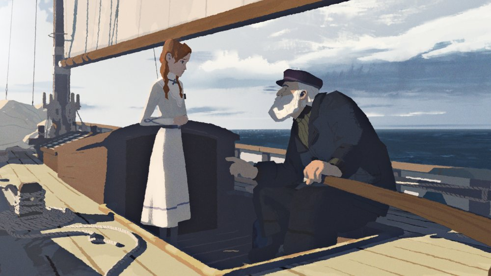 John Kahrs' 360-degree animated Age of Sail charts the rescue of a young girl on a sailboat in the middle of the Atlantic