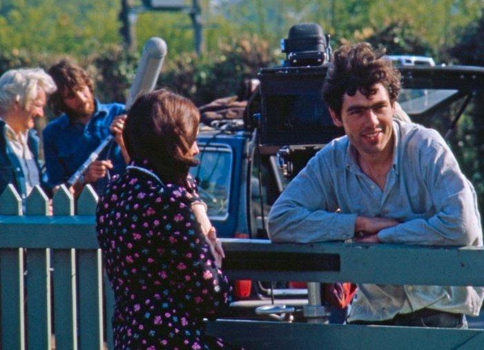 Garrow Shand with Barbara Tilney, who plays Tom's partner Jean