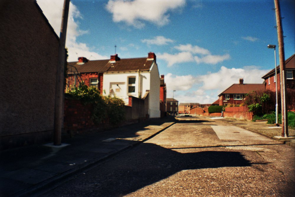 Ferry View Road, one of the few redbrick estates left in the area