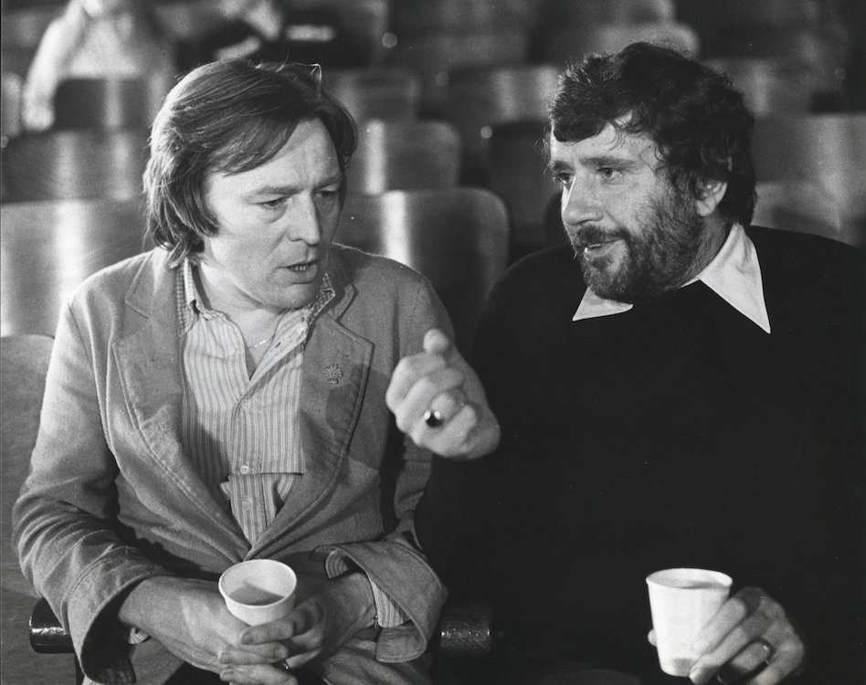 Alan Parker with producer Alan Marshall, 1979