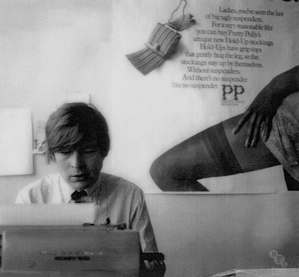 Alan Parker as young copywriter at CDP