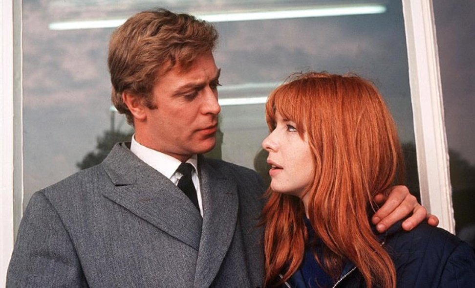 Michael Caine as Alfie and Jane Asher as Annie in Alfie (1966)