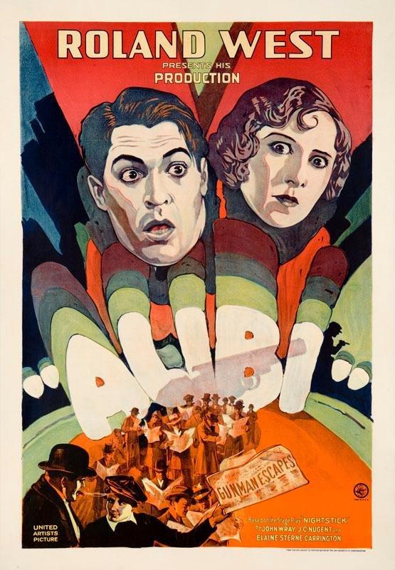Alibi (1929) poster