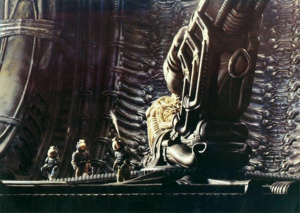 In the lair of Alien (1979)