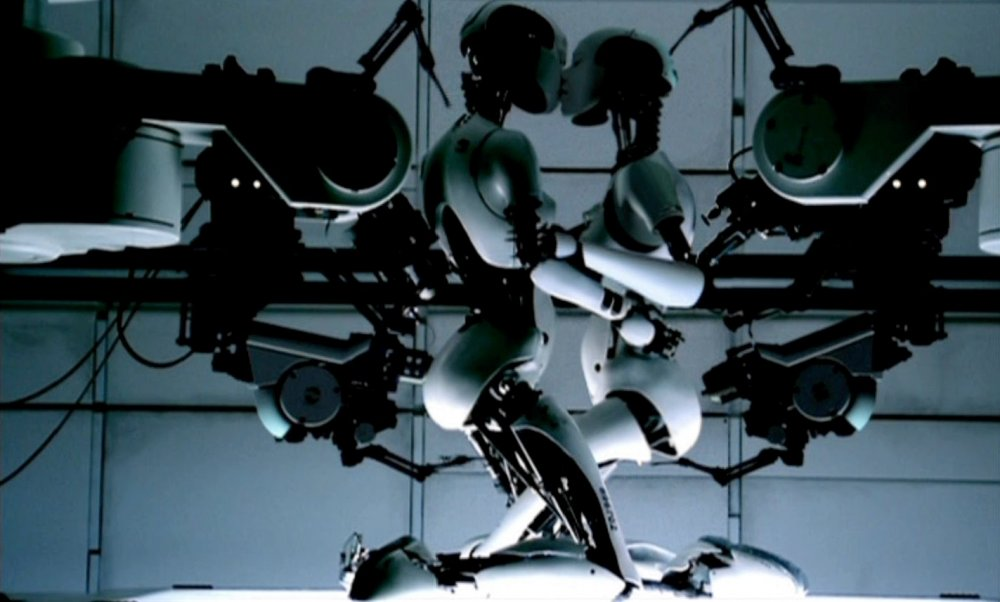 Chris Cunningham's 1999 music video for Bjork's All is Full of Love, championed by onedotzero