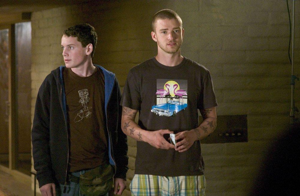 Anton Yelchin with Justin Timberlake in Alpha Dog (2006)