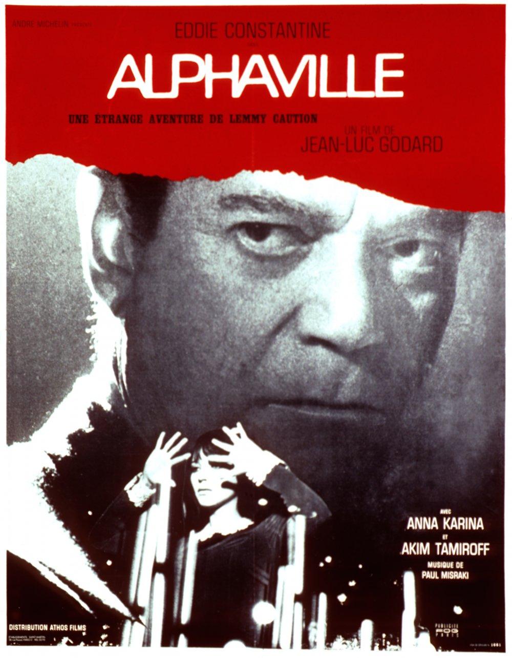 Alphaville (1965) poster