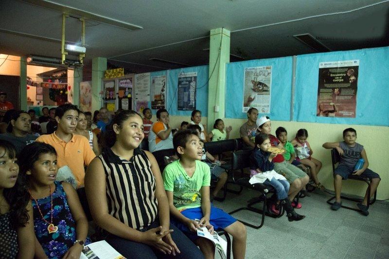 An Ambulante screening in Guerrero