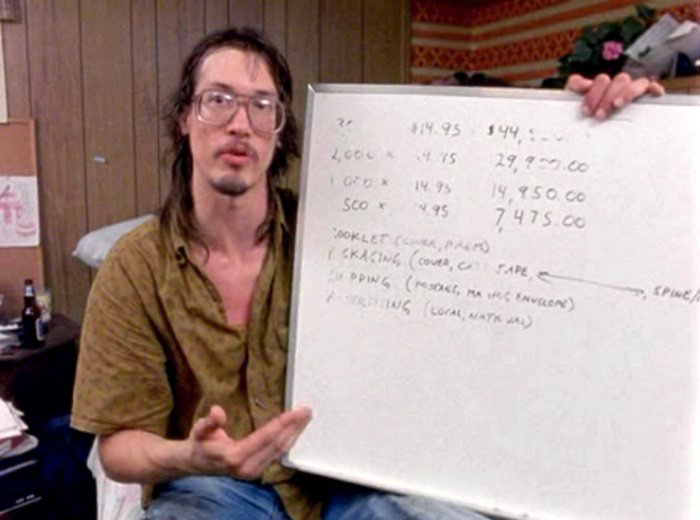 Coven director Mark Borchardt, star of Chris Smith's 1999 documentary American Movie