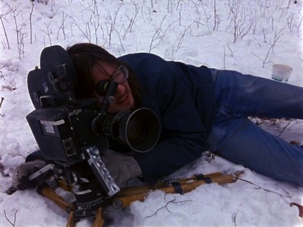 Mark Borchardt filming Coven, as seen in American Movie (1999)