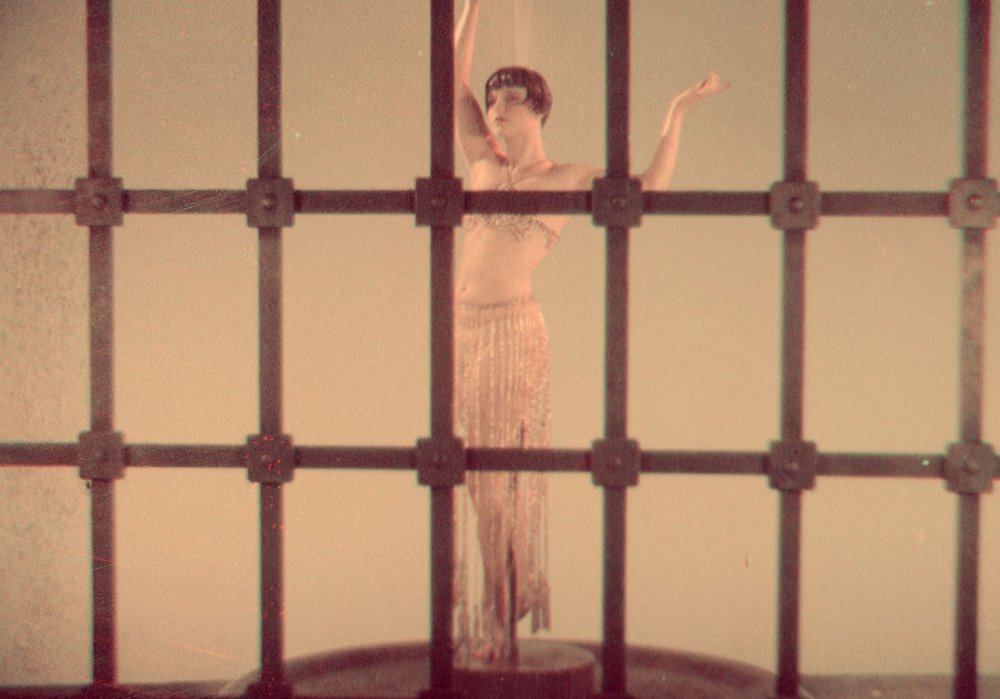 Louise Brooks in a fragment of The American Venus (1926)