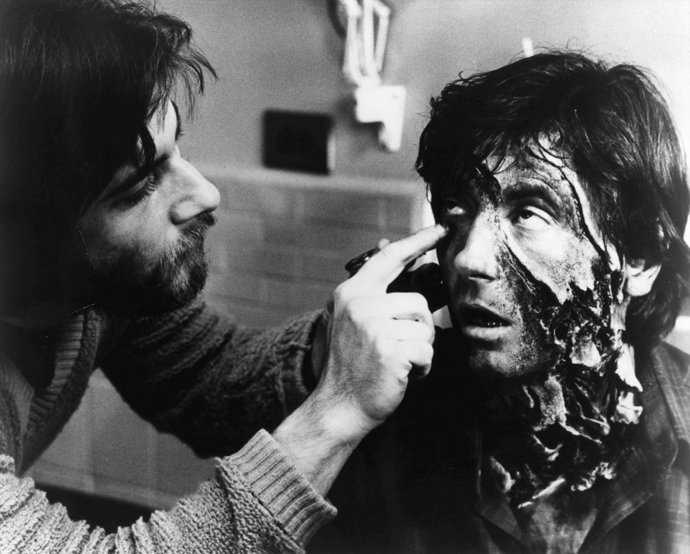 Production still from An American Werewolf in London (1981)