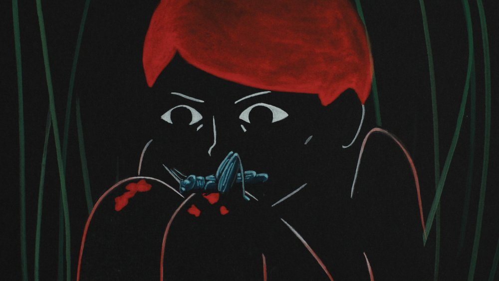 Agnès Patron's stripped-down, expressionistic And Then the Bear was the only animated film among Cannes's Official Competition shorts