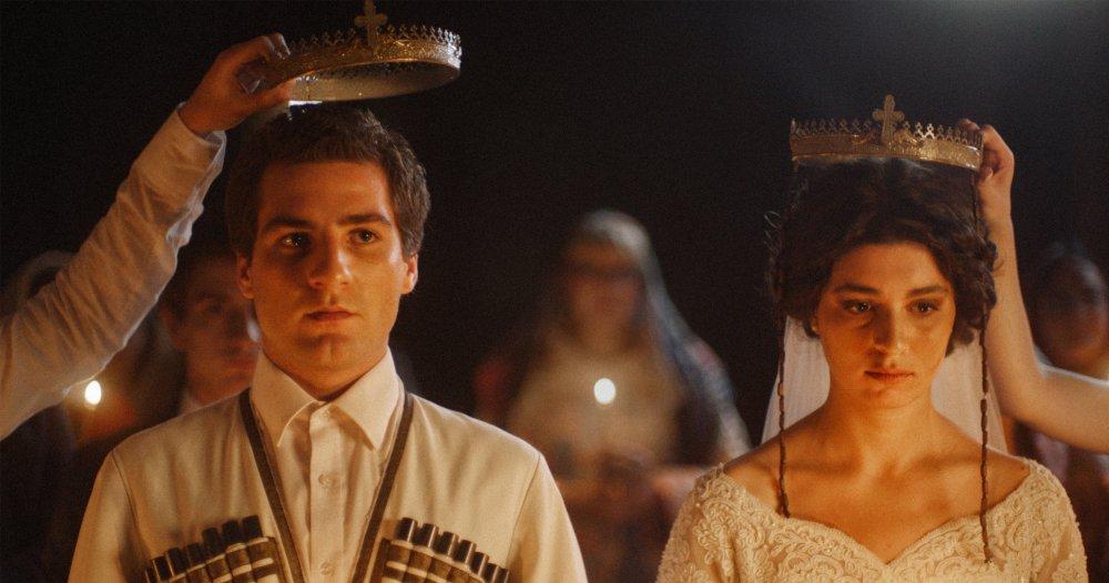 Giorgi Tsereteli as David and Ana Makharadze as Sopo
