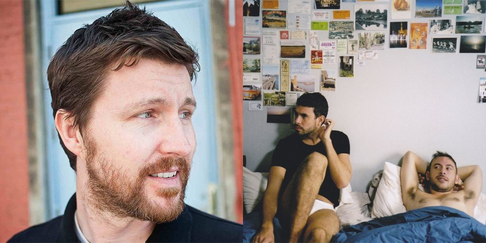 Andrew Haigh (left), director of Weekend (right)