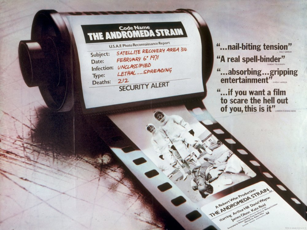 The Andromeda Strain (1971) poster