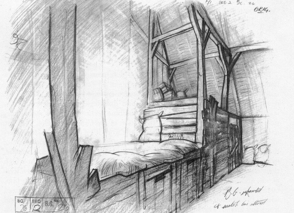 Barn layout drawing