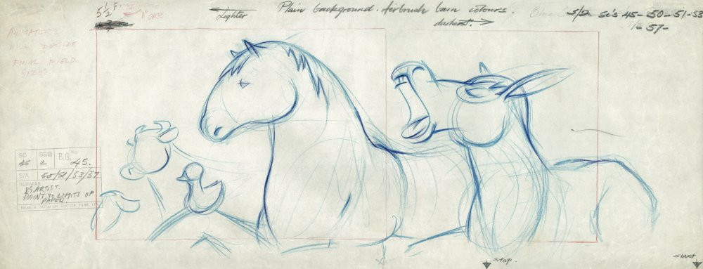Sketches for Animal Farm (1954)