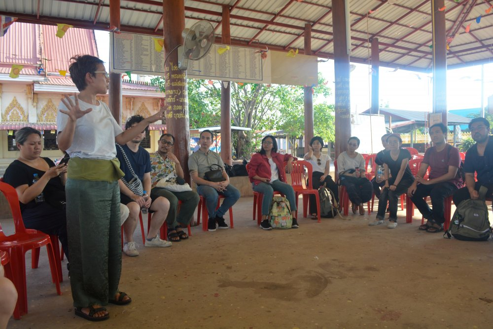 An Animistic Apparatus workshop in Udon Thani