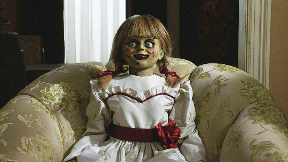 'China-faced child-hag' Annabelle in Annabelle Comes Home