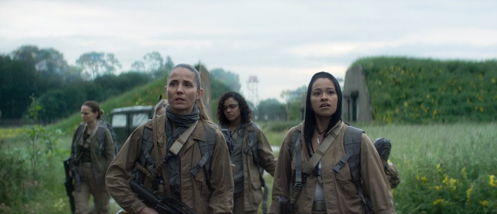 Natalie Portman, Tuva Novotny, Tessa Thompson and Gina Rodriguez in Annihilation