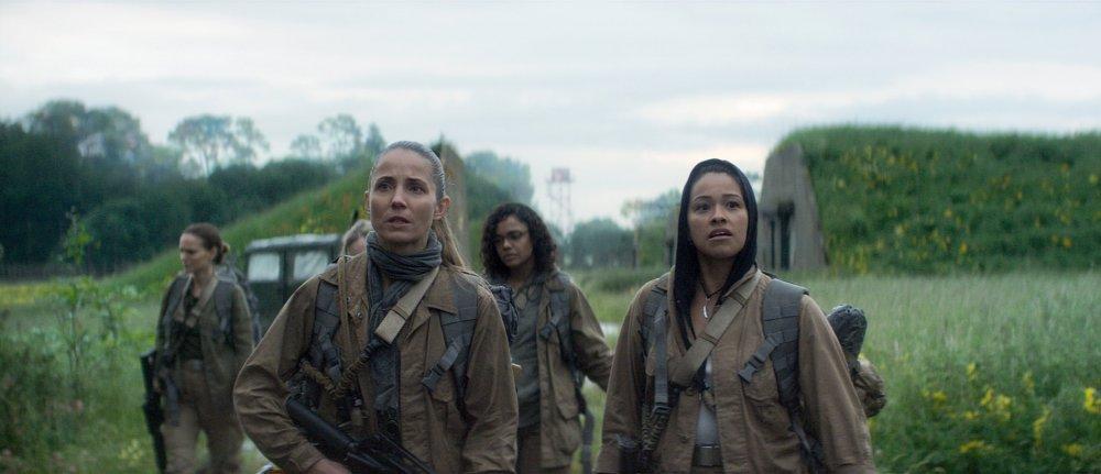 Natalie Portman, Tuva Novotny, Tessa Thompson and Gina Rodriguez in Annihilation