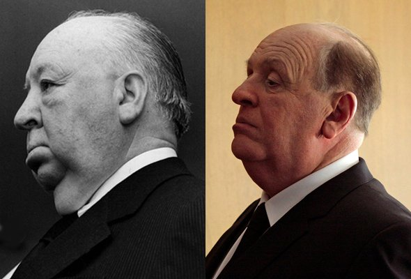 Alfred Hitchcock, as played by Anthony Hopkins in Hitchcock (2012)