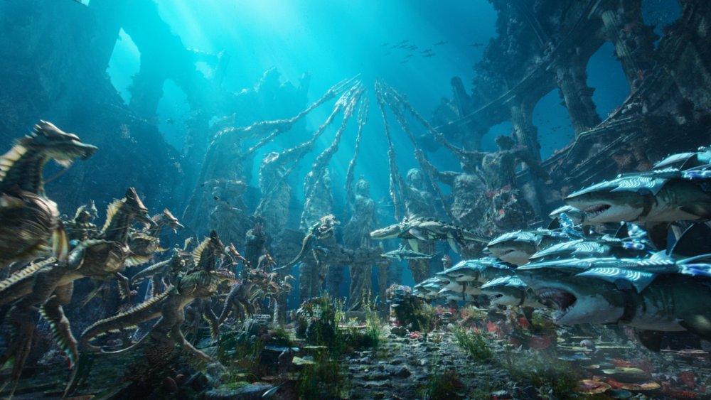 Into the blue: Aquaman