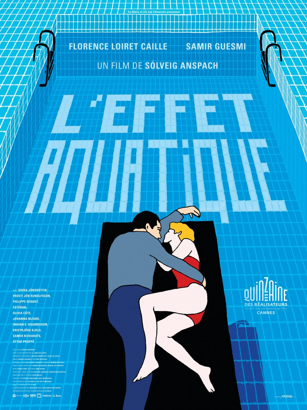 The festival poster for Solveig Anspach's The Aquatic Effect (2016)