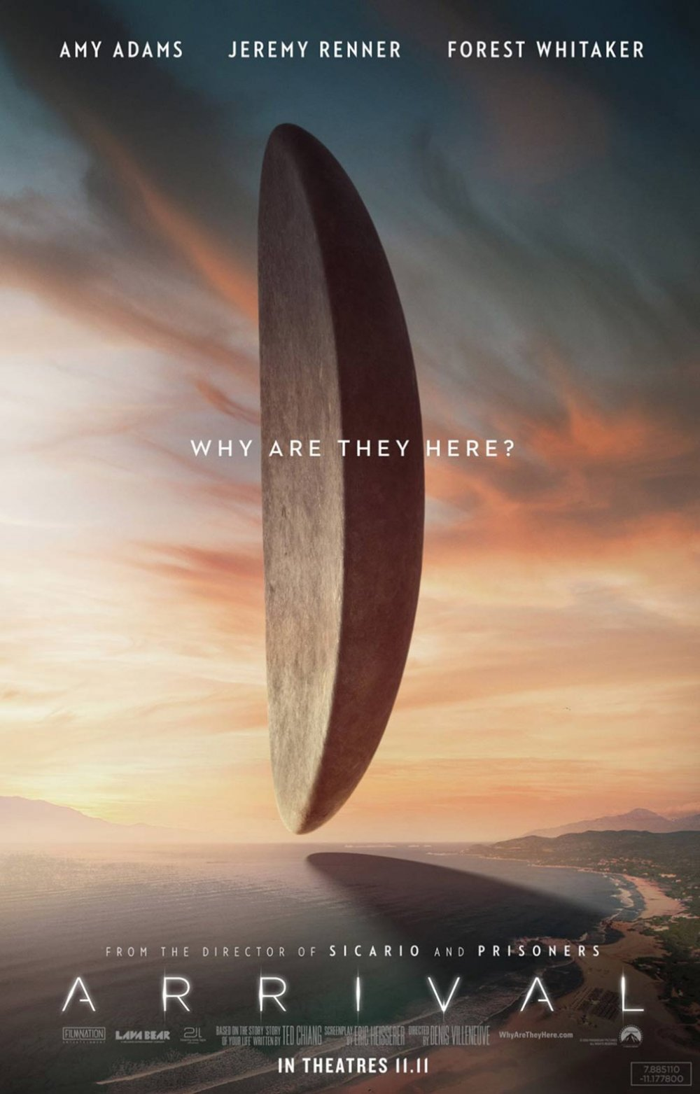 Arrival (2016) poster
