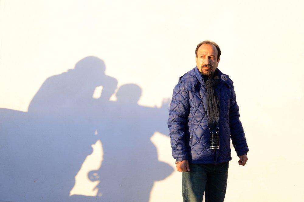 Asghar Farhadi during production of The Salesman (2016)