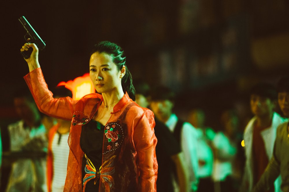 Zhao Tao as Qiao in Ash Is Purest White (Jiang hu er nv)