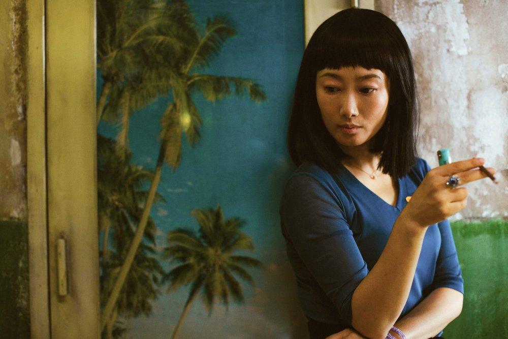 Zhao Tao as Qiao in Ash Is Purest White (Jiang hu er nv)