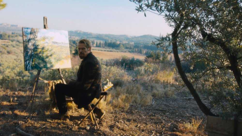 Willem Dafoe as Vincent van Gogh in At Eternity's Gate